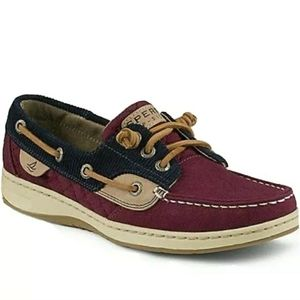 Sperry 7 Top-Sider Angelfish Boat Shoe Brn Leather